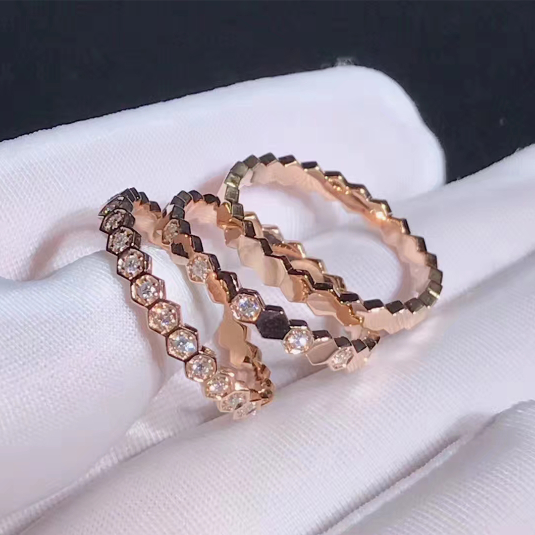Chaumet 18k Gold Bee My Love Ring