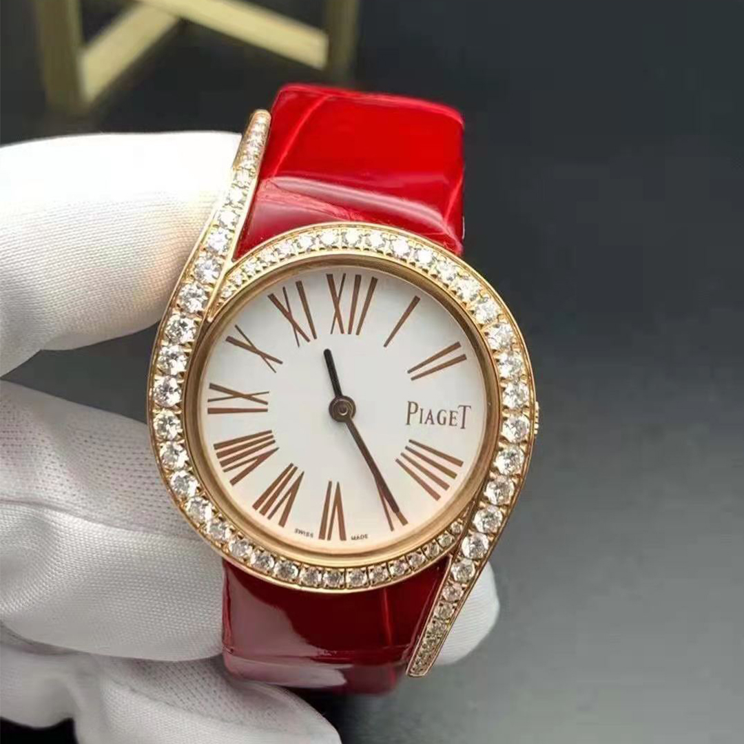 Piaget Limelight Gala 18k Rose Gold and Diamond 32mm Ladies Watch G0A43361